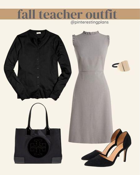 Teacher outfit!  Workwear.  This dress is on sale.   #LTKunder50 #LTKsalealert #LTKworkwear