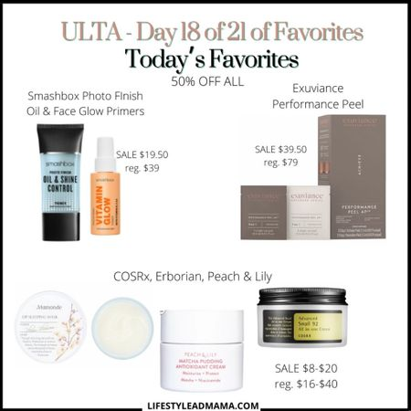 ULTA Beauty Steals Sale Happening Now. Love this sale and everything on sale is 50% off!!!  So many good things. #ultabeauty    #LTKunder50 #LTKsalealert #LTKbeauty http://liketk.it/2VBr4 @liketoknow.it #liketkit   #LTKunder50 #LTKsalealert #LTKbeauty