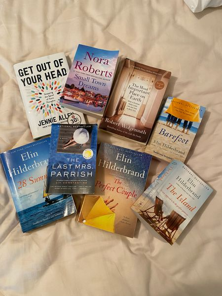 Summer Reading List 📚 Amazon finds under $10. I've read all of these this summer and they are so good.   #LTKhome #LTKunder50 #LTKfamily