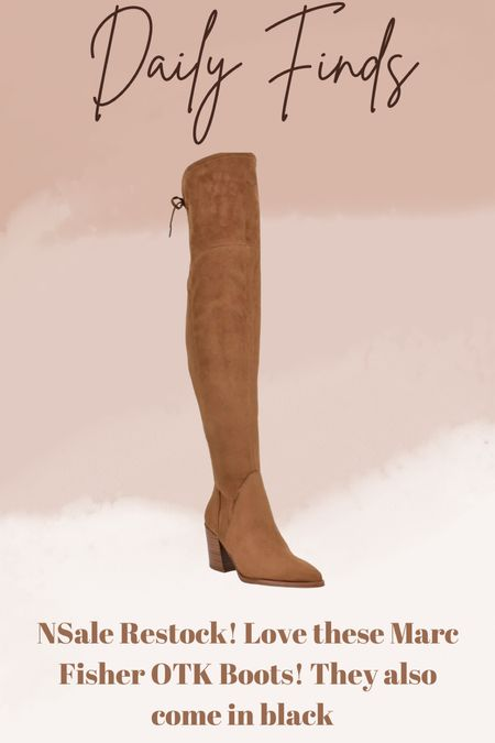 Nordstrom anniversary sale Marc Fisher over the knee boots OTK boots   #LTKsalealert #LTKshoecrush #LTKstyletip