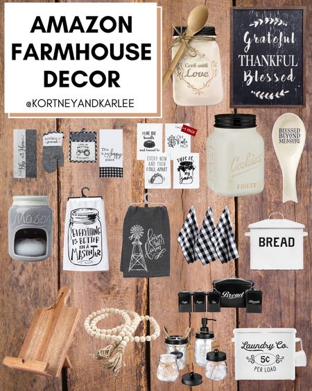 Amazon Farmhouse Decor!  Amazon farmhouse decor | amazon farmhouse home decor | farmhouse decor from amazon | amazon home decor | affordable farmhouse decor | affordable farmhouse home decor | farmhouse home decor | farmhouse click | cozy throw blanket | amazon finds | amazon home finds | amazon home favorites | Kortney and Karlee | #Kortneyandkarlee #LTKunder50 #LTKunder100 #LTKsalealert #LTKstyletip #LTKSeasonal #LTKhome @liketoknow.it #liketkit