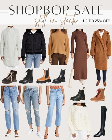Pieces still in stock from the Shopbop sale - up to 25% off with the code STYLE   #LTKstyletip #LTKsalealert #LTKunder100