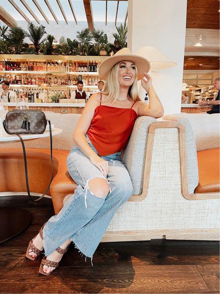 Arizona has been such a blast!! Loving these 90's flair jeans!   #LTKstyletip #LTKunder100 #LTKtravel