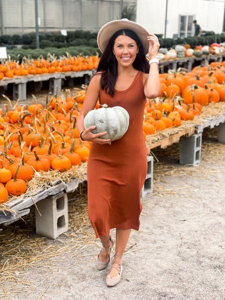 Fall fun 🎃 this dress runs. Little big so be sure to size down 1! #competition #fall #falldress   #LTKSeasonal #LTKSale