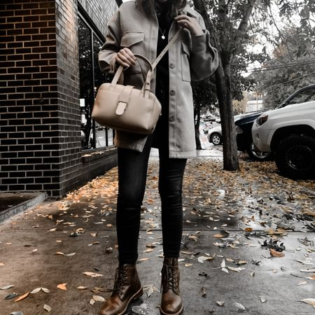 I just love fall fashion, it makes me so happy to bundle up in cozy layers and cute boots! This shacket and my Nisolo Amalia boots are absolute staples in my wardrobe. PS - the linked shacket is the same as the one I'm wearing, but in the other color.   #LTKshoecrush #LTKunder50 #LTKSeasonal