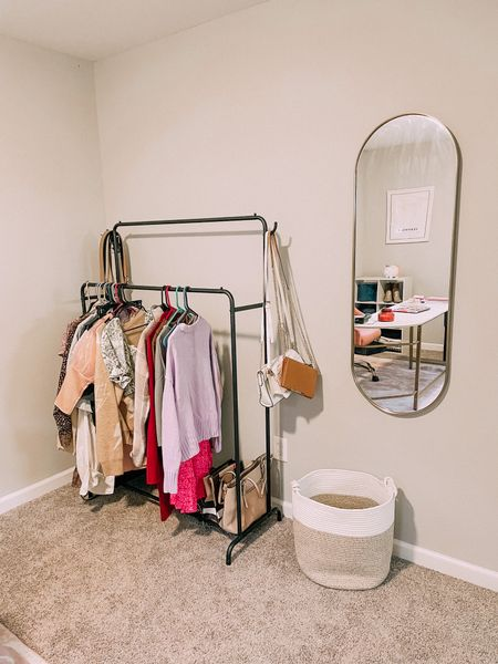 This clothing rack is easy to set up and very sturdy! Love these Amazon finds!   #LTKhome #LTKstyletip #LTKsalealert