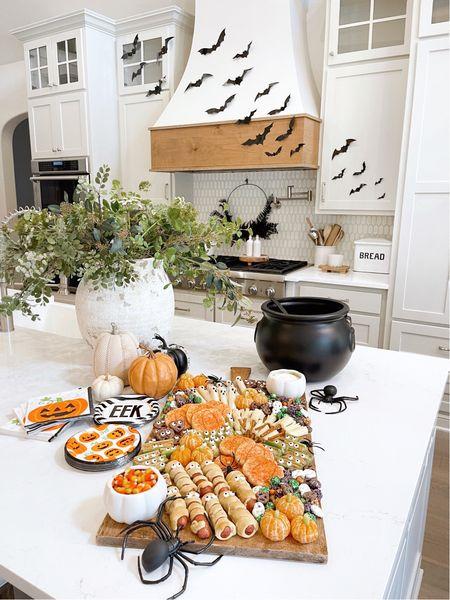 Halloween decor, kitchen, charcuterie board, party decor, spooky decor, home decor, Walmart finds, pottery barn, kids decor   #LTKhome #LTKkids #LTKSeasonal