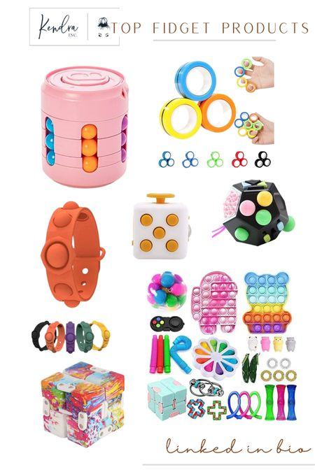 Fidgets are so bug right now and this is all Kenley asked for, for her birthday. Here's a few of my top favorite fidgets for kids to adults!  http://liketk.it/3fUcv #liketkit @liketoknow.it #LTKkids #LTKunder50 #LTKkidstoys