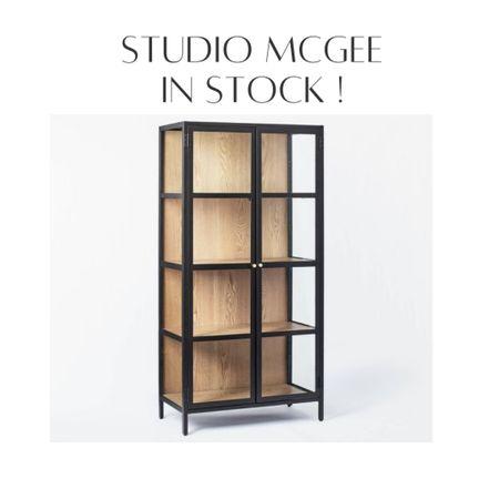 Studio McGee Target in stock! Black cabinet, black hutch, display cabinet. Dining room, bedroom, living room   #LTKstyletip #LTKsalealert #LTKhome