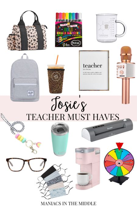 My teacher must haves! These all make great gifts for teachers in your lives! #liketkit @liketoknow.it http://liketk.it/32c3c #LTKgiftspo