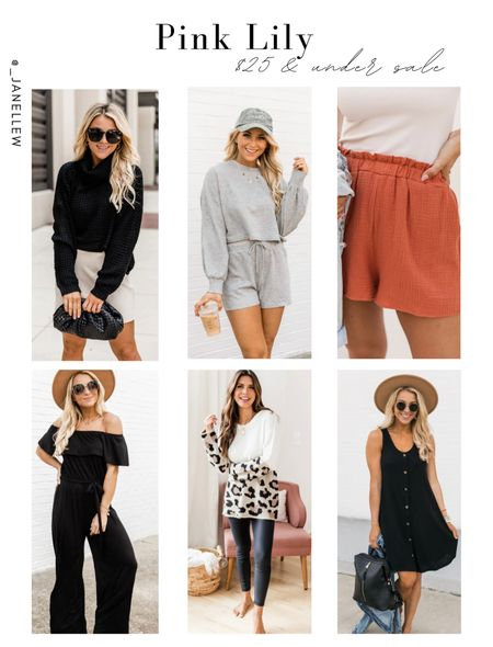 #pinklily isn't playing with these amazing sales! So jump on board so you don't get left!! $25 & under #sale. Only good for 48 hrs!!  #waffle #sweaters #autumnoutfits #falloutfits #set #loungeset #loungewear #lounge #relax #dress #midi #shorts #ribbed #turtleneck #black #autumncolors #octoberoutfits #octoberlooks #print #animalprint #jumpsuit #endofsummersale #endofsummer #offtheshoulder #ltkholiday #holiday #transeasonal #transitional #top #knitwear #knit #croptop #jewelry #earrings #necklace #initials #accessories  #LTKSeasonal #LTKGiftGuide #LTKsalealert
