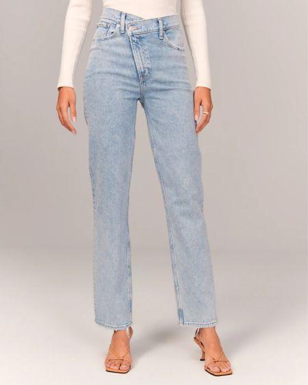 Loving cross over jeans right now.   #LTKSale #LTKunder100 #LTKsalealert