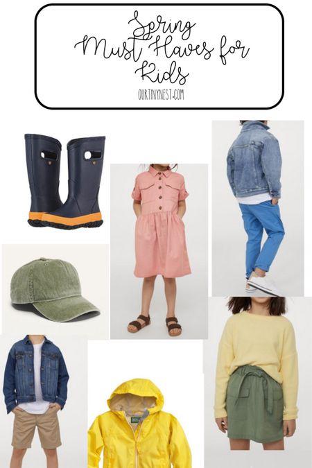 Best of spring must haves for kids - rain boots, jackets, rompers, dresses, chinos.   http://liketk.it/3aUzD #liketkit @liketoknow.it   #LTKSpringSale #LTKunder100 #LTKkids
