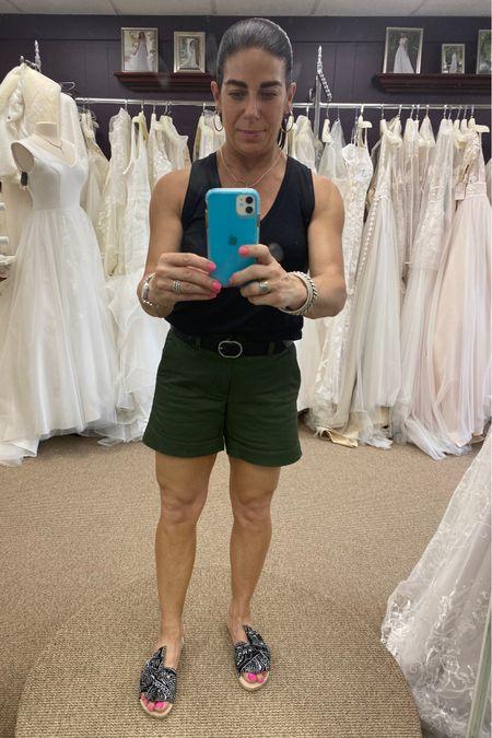 Comfortable weekend shopping outfit. #shortweather #casualstyle  #funshoes #silverjewelry  #LTKshoecrush #LTKstyletip #LTKunder100 http://liketk.it/3gZux #liketkit @liketoknow.it #