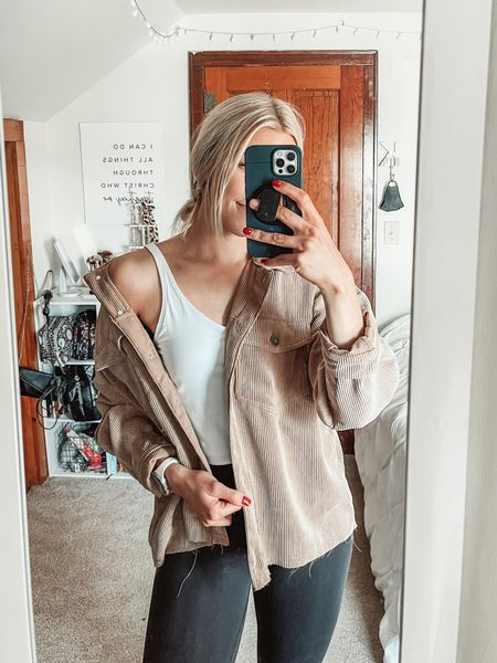 Love how versatile this Amazon tank is! Perfect for working out, wearing on its own, or layering under a jacket as I did today 🙌  Wearing a size medium in the Amazon tank (for length), size 4 in lululemon wunder trains, and small in Forever21 jacket    #LTKfit #LTKstyletip #LTKunder50
