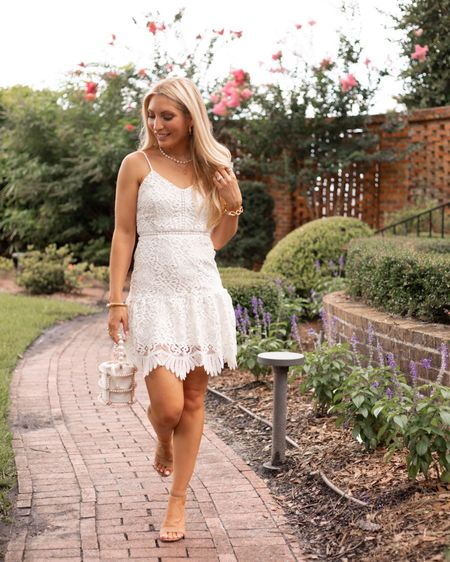 It's bridal season ladies!!! Does anyone have friends that just got engaged, or are full speed ahead in the wedding planning process? Congrats to all the new brides to be and new brides. If you are on the hunt for a LWD then I have an affordable round up on the LTK app! . . . #weddingseason #bridalseason #littlewhitedress #whitedresses #whiteafterlaborday #bachelorette #bridalparty #shesaidyes #teambride #bridesquad #affordablefashion #thefashionableaccountant  #LTKunder100 #LTKwedding #LTKunder50