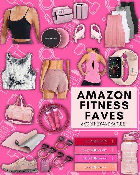 Amazon Fitness Faves!  Amazon workout gear | amazon fitness | amazon fitness favorites | amazon fitness finds | amazon athletic gear | fitness gear | fitness equipment | amazon fitness gear | amazon fitness equipment | Kortney and Karlee | #kortneyandkarlee #LTKunder50 #LTKunder100 #LTKsalealert #LTKstyletip #LTKshoecrush #LTKSeasonal #LTKfit #LTKhome @liketoknow.it #liketkit