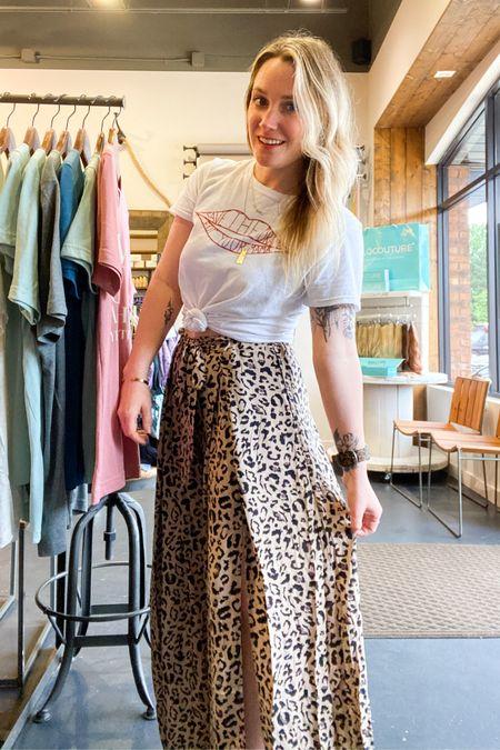 Leopard print pants and low key Rachel Green vibes http://liketk.it/3hOQZ #liketkit #LTKunder50 #LTKworkwear @liketoknow.it.home @liketoknow.it.family @liketoknow.it