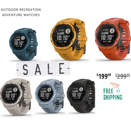 Save $100! Fathers Day Gift Idea! Industrial Adventure Smart Watch! Grab one before they are out of stock! Colors shown are still available right now! Gift idea for him! Free Shipping We bought the lakeside blue color for our dad but we really love the black charcoal and grey too! #LTKfit #LTKmens #LTKsalealert #liketkit @liketoknow.it @liketoknow.it.family http://liketk.it/2Q4u5