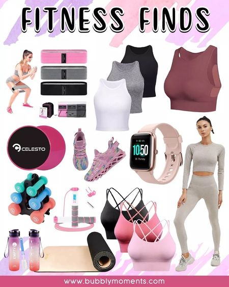 Resistance Band for Legs and Butt, Women's Tank Top Sports Bra, Digital Weighted Handle Workout Jumping Rope with Calorie Counter for Fitness Training, Women's Basic Sleeveless Racerback Crop Tank Top, Women's Workout Outfit, Strappy Sports Bra for Women, Women's Walking and Running Shoes, Non-Slip Yoga Mat, Smart Watch Fitness Tracker, Hand Weights with Stand, Dual Sided Core Gliders, and Sports Water Bottle for Gym. Fitness Finds.   #LTKfitness #LTKfashion #LTKtrends #fitness #workout #gym #training #sports #exercise #wellness #lifestyle #resistancebands #tanktop #sportsbra #workoutbra #digitaljumpingrope #exerciserope #womensbasicsleeveless #racerbackcroptop #womenswear #womensclothing #womensfashion #workoutoutfit #fitnesstanktops #womensrunningshoes #womensshoes #yogamat #nonslipmat #fitnessmat #smartwatch #fitnesstracker #digitalwatch #weights #dumbells #abdominalexercise #trainingequipment #abworkout #gliders #sportswaterbottle #gymbottle