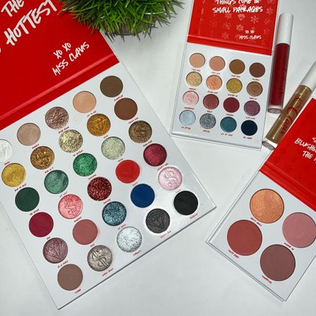 BH Cosmetics Miss Claus Collection   #LTKHoliday #LTKbeauty #LTKGiftGuide