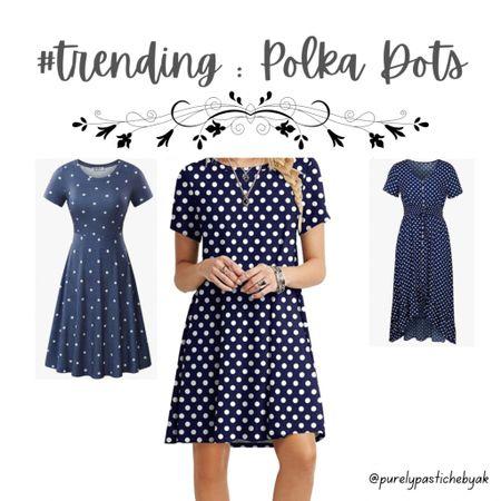 Polka dots are #trending! Shop these & more.   #LTKunder50 #LTKfit #LTKstyletip