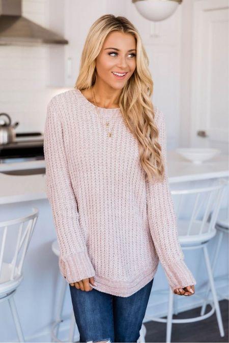 Pink Lily sweater  #LTKunder50 #LTKVDay