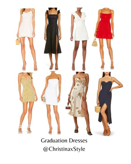 My picks for graduation dresses and graduation outfits. A mix of solid and floral dresses for this special occasion to celebrate this big milestone! Happy graduation 🎓season and let me know which graduation dress you like! http://liketk.it/3ff17 #liketkit @liketoknow.it #LTKstyletip #LTKsalealert