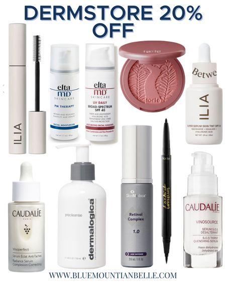 Dermstore sale 20% off the best beauty and skincare product. Ilia tarte eltamd retinol beauty sale skincare sale sunscreen http://liketk.it/3g8uy #liketkit @liketoknow.it   #LTKbeauty #LTKsalealert #LTKunder100