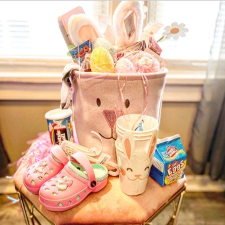 Who's ready for the Easter bunny? 🐰  I teamed up with a group of mom friends to share some last minute Easter basket inspo. Hop through #basketswithfriends for some ideas! . . . #momblogger #easterbaskets #easterbasketideas #easterbunny #easterbasket #momblog #toddlergirl #toddlerlife #toddlereasterbasket http://liketk.it/3bRMt #liketkit @liketoknow.it Shop your screenshot of this pic with the LIKEtoKNOW.it shopping app #LTKbaby #LTKunder100