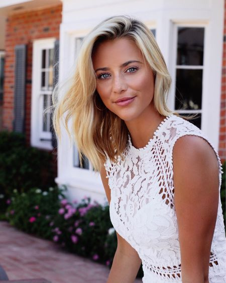 White Lace Dress! @liketoknow.it http://liketk.it/2xk0m  #liketkit