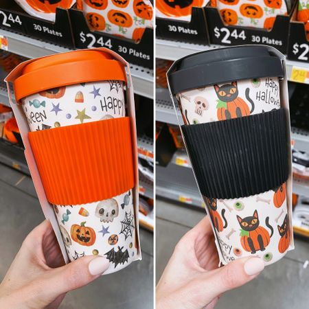 Halloween tumblers. Walmart. Halloween coffee cup.  #walmartfinds #walmarthalloween #walmart @walmart #halloweencoffeecup   #LTKunder50 #LTKSeasonal #LTKGifts