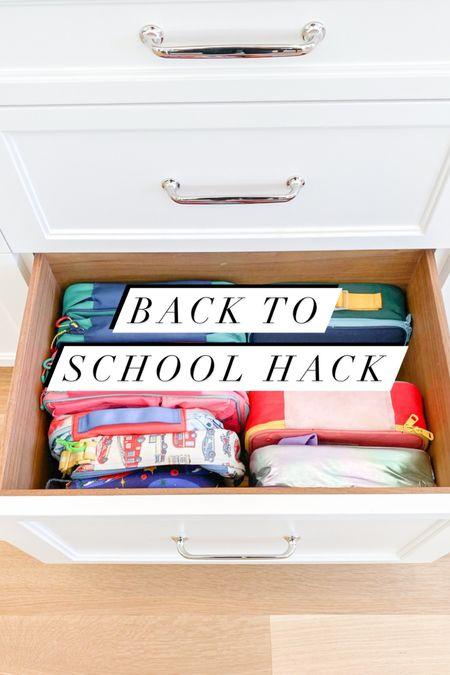 Back to school lunch organization hack 🍎✨  #LTKhome #LTKbacktoschool #LTKkids