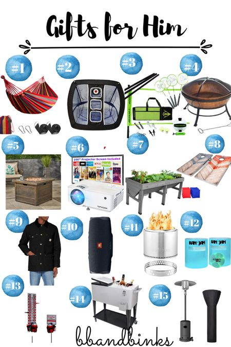 Spoil that guy who loves to hsng in the backyard!  #LTKGiftGuide #LTKfamily #LTKmens
