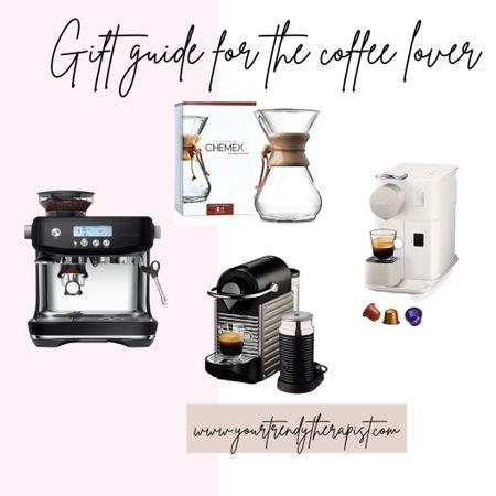Gift guide for the coffee lover, nespresso and breville👏🏼  #LTKsalealert #LTKhome #LTKgiftspo