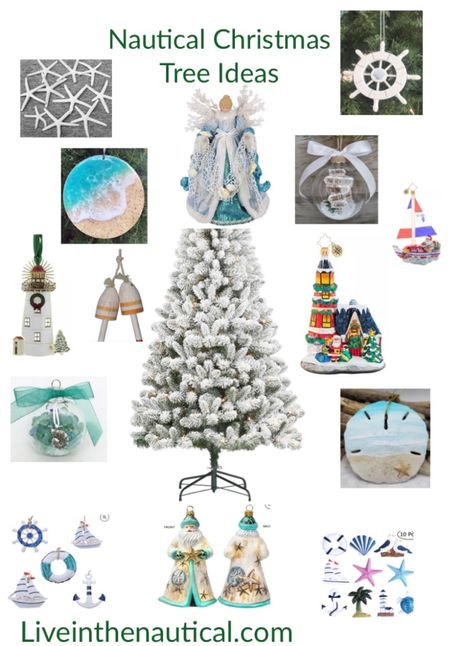 My Christmas Tree has to have that nautical aspect to it and these are some of my favorite decorations to use.  #LTKHoliday #LTKGiftGuide #LTKSeasonal