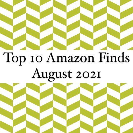 Top 10 Amazon Finds August 2021   #LTKunder100 #LTKhome #LTKbeauty