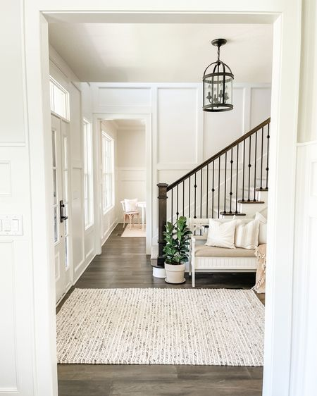 Cutest foyer bench and wool rug😍 My favorite throw too!💕 http://liketk.it/3fbeF #liketkit @liketoknow.it #LTKhome #LTKunder50 #LTKstyletip @liketoknow.it.family @liketoknow.it.home You can instantly shop my looks by following me on the LIKEtoKNOW.it shopping app