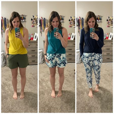 Old Navy Active try on in my stories! Snagged all of this for about $150 and a few things can mix and match and be worn for casual wear too!   Shop the looks in the @liketoknow.it app and the link in my profile!    http://liketk.it/3fJZL #liketkit #LTKunder50 #LTKsalealert #LTKcurves