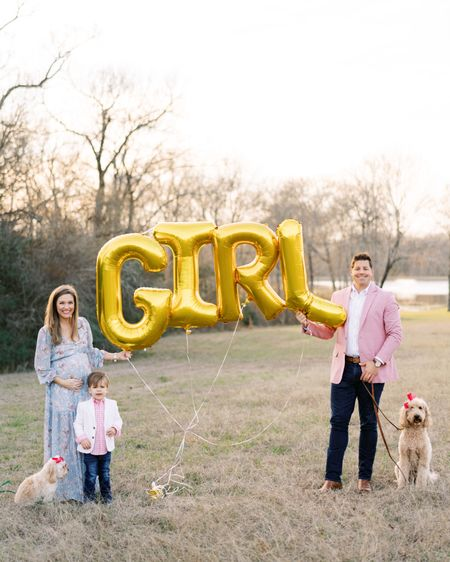 It's a girl! We are elated for #MyLittleBMF to have a baby sister this summer! He's going to be the best big brother! Shop all of our looks on @liketoknow.it at http://liketk.it/3cox9   My dress is on waitlist, but I also tagged a couple of great options available now!    #liketkit #LTKfamily #LTKkids #LTKbump