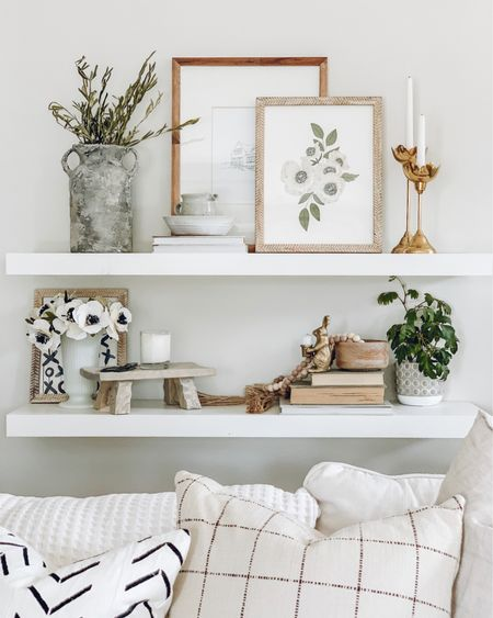 A little shelfie inspo for this Canada day!   The temperatures are slowly going down, and we are looking forward to spending today outside with some friends, eating snacks, playing in the water and enjoying the day!   http://liketk.it/3iOxm #liketkit @liketoknow.it #LTKhome @liketoknow.it.home