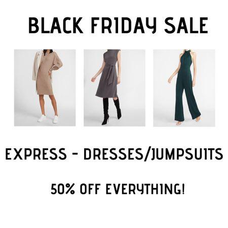 Favorite Express dresses and jumpsuits 50% off! http://liketk.it/32uGz #liketkit @liketoknow.it #LTKsalealert #LTKunder50 #LTKunder100
