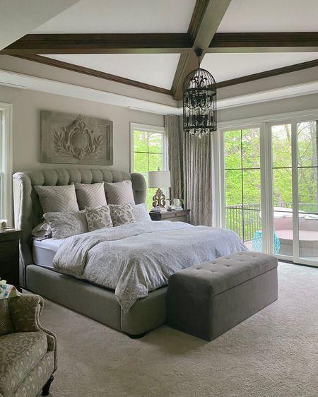 Make your master bedroom a retreat! http://liketk.it/3fEX8 #liketkit @liketoknow.it #LTKhome #LTKstyletip #LTKsalealert