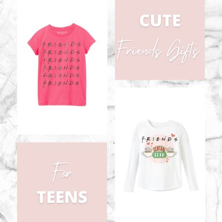 Cute Teen Girl Gift Ideas! If you have a teenage girl on your Christmas gift list, and she loves the show FRIENDS (and who doesn't) she will love these gifts! #friends #giftsforteenagegirls #friendsmerch  #LTKhome #LTKstyletip #LTKunder100
