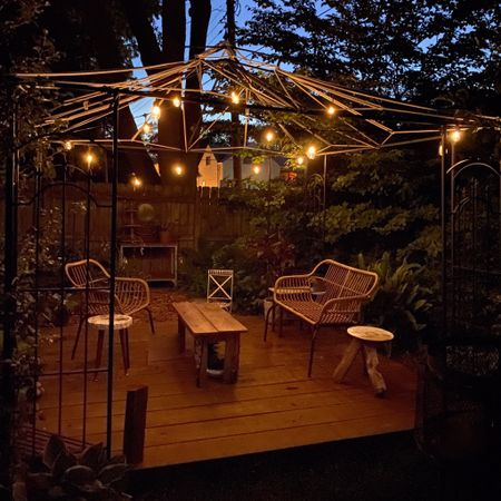 These solar powered string lights are amazing and are perfect for spending warm summer nights outside. We've used them a few seasons now and they still shine bright! http://liketk.it/3h0uL #liketkit @liketoknow.it @liketoknow.it.home #LTKhome #LTKfamily #LTKunder50