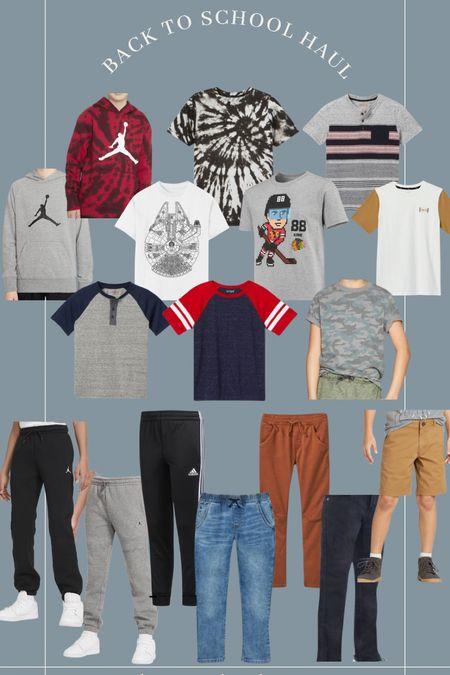 Back to school shopping for boys clothes! #adidas #nike #target #targetstyle #nhl #hockey #backtoschool #boysclothing #boysstyle  #LTKkids #LTKfamily #LTKsalealert