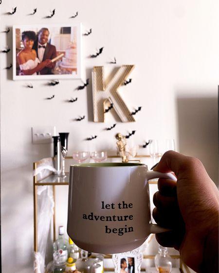 Morning coffee and Halloween decor   #LTKHoliday #LTKSeasonal #LTKunder50