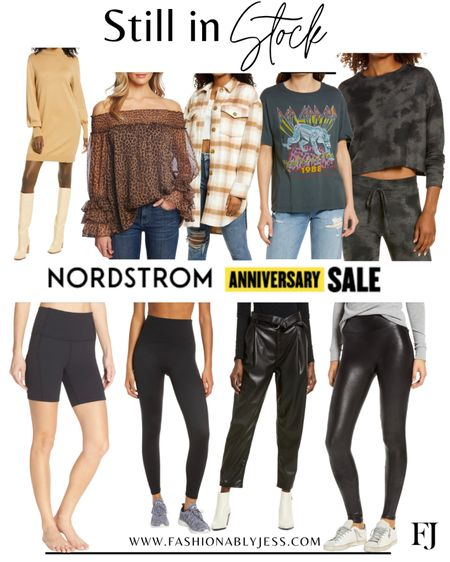 Still in stock!  #Nsale Graphic tee Sweater dress Spanx Athleisure  Fall tops   #LTKsalealert #LTKstyletip #LTKunder100