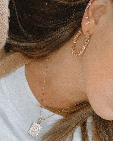 The best initial necklace ✨❤️ http://liketk.it/39rfM #liketkit @liketoknow.it