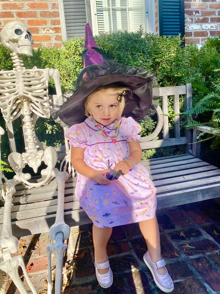 Cause there's no nicer witch than you! 🎶🔮 adorable Halloween items are on sale now.   #LTKkids #LTKSeasonal #LTKbaby